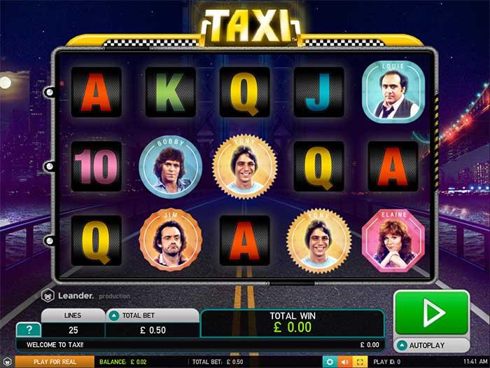 Taxi Slot Leander