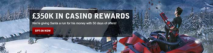 50 days of Christmas Promotions Betsafe