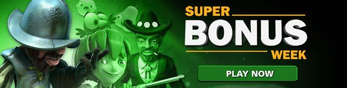 CasinoLuck Super Bonus Week