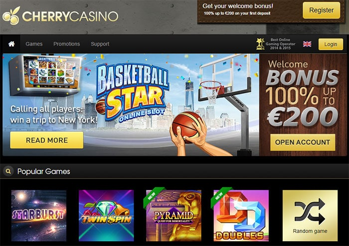 Cherry Casino New Welcome Bonuses