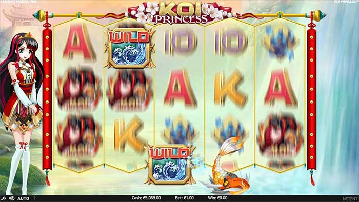 Koi Princess Slot NetEnt