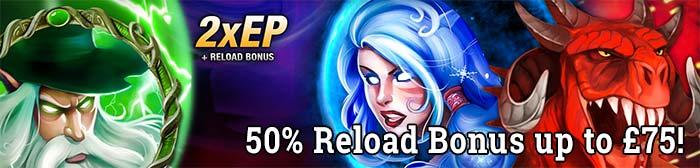 Magic Portals Reload bonus