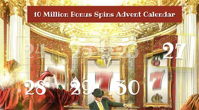 Mr Green's 2015 Casino Calendar