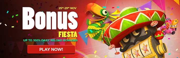 NextCasino Bonus Fiesta