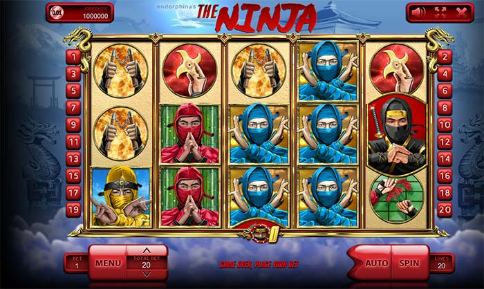 The Ninja Slot Endorphina