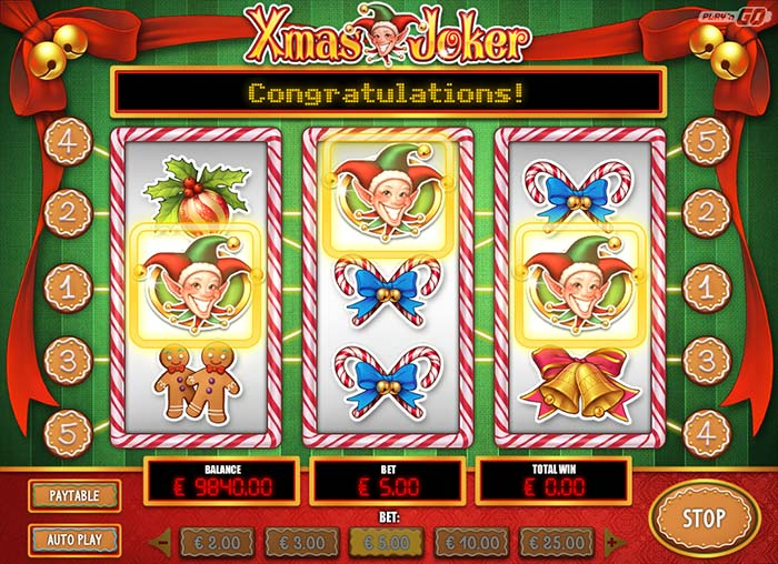Xmas Joker Slot Play