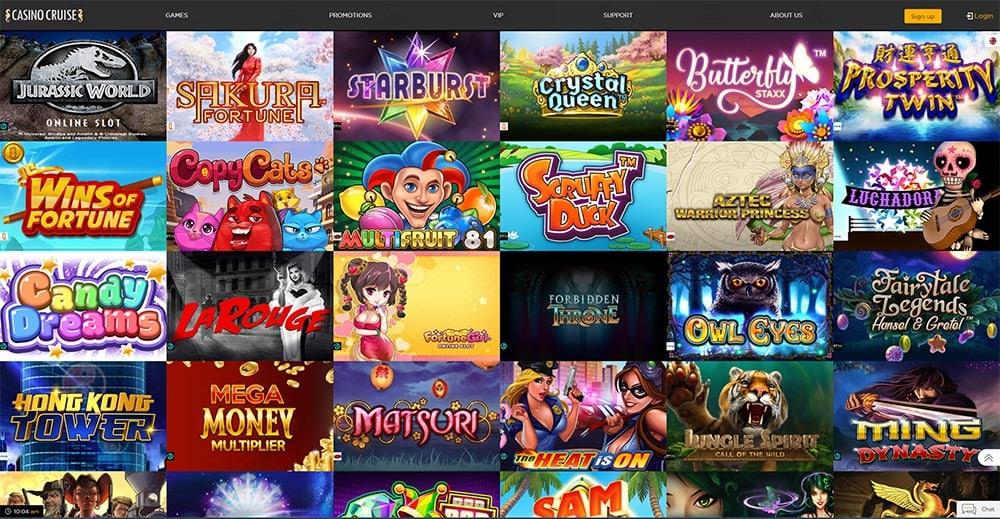 Casino Cruise - Online Slots Range