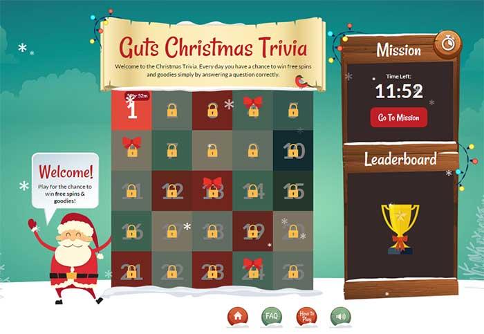 Guts Christmas Trivia Quiz