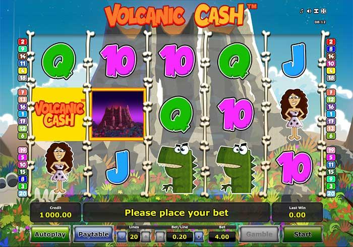 Volcanic Cash Slot Novomatic