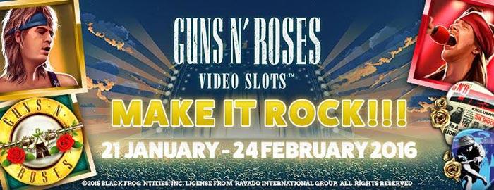 Guns n Roses Slot Promotions