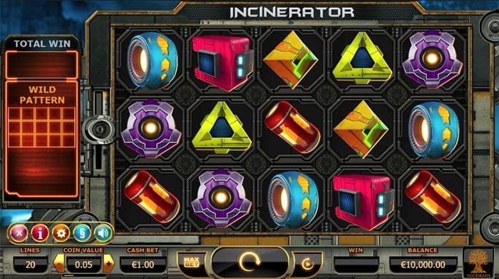 Incinerator Slot Yggdrasil Gaming