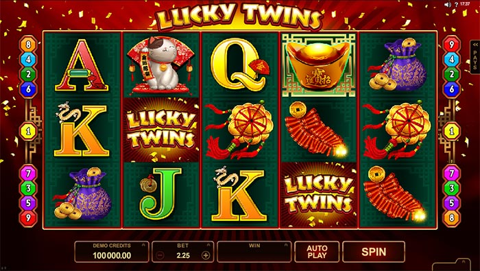 Lucky Twins Slot Microgaming