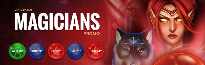 NextCasino Magicians Promotions