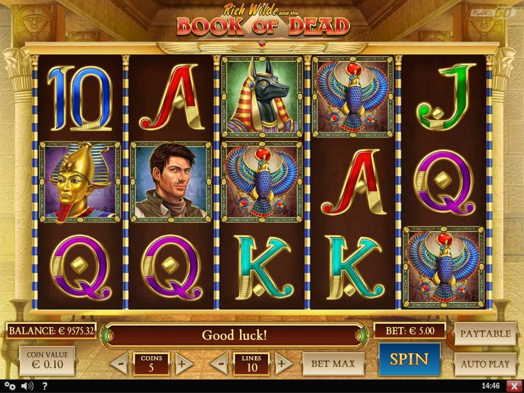 Book of Dead Slot - Base Game