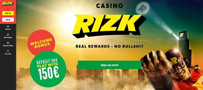 Rizk Casino Slot Selection