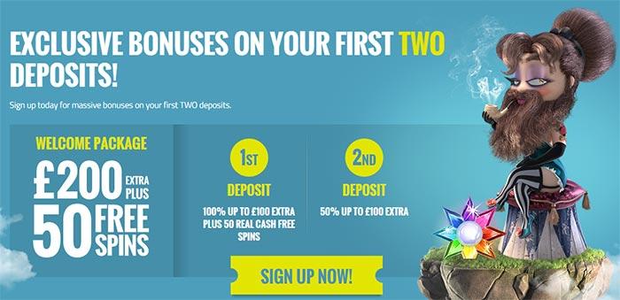 Thrills Casino Welcome Bonuses