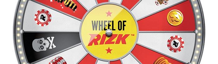 Wheel of Rizk header