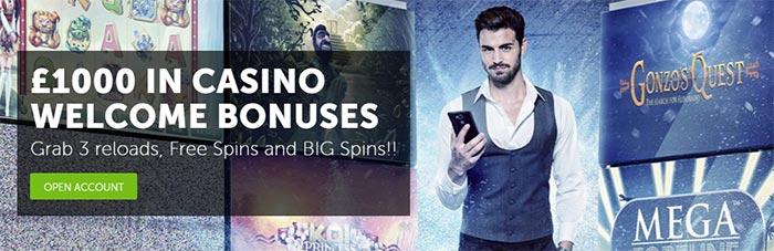 New Betsafe Casino Bonuses 2016