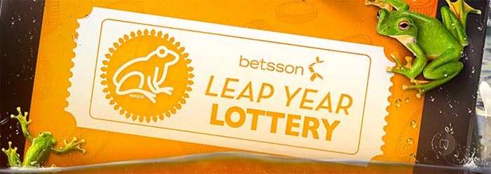 Betsson Leap Year Lottery