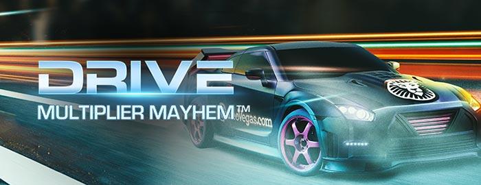 Drive Multiplier Mayhem Leo Vegas Casino