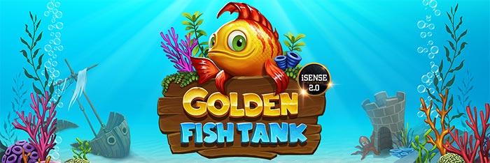 Golden Fish Tank Header