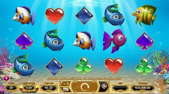 Golden Fish Tank Slot - Yggdrasil