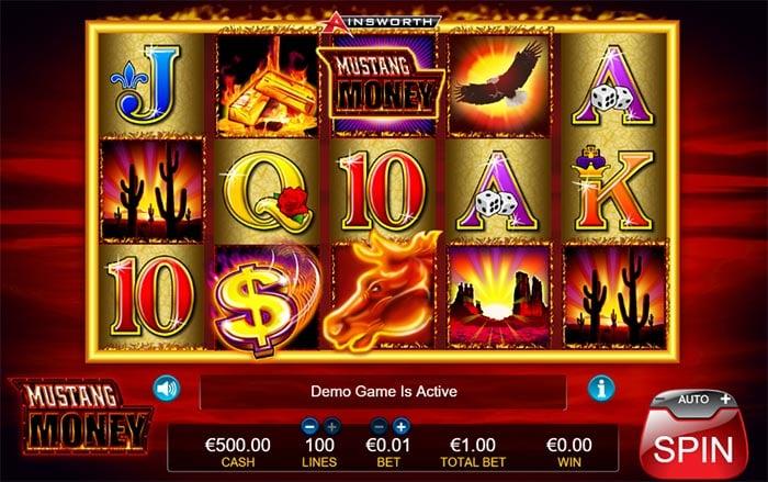 Mustang Money Slot Ainsworth