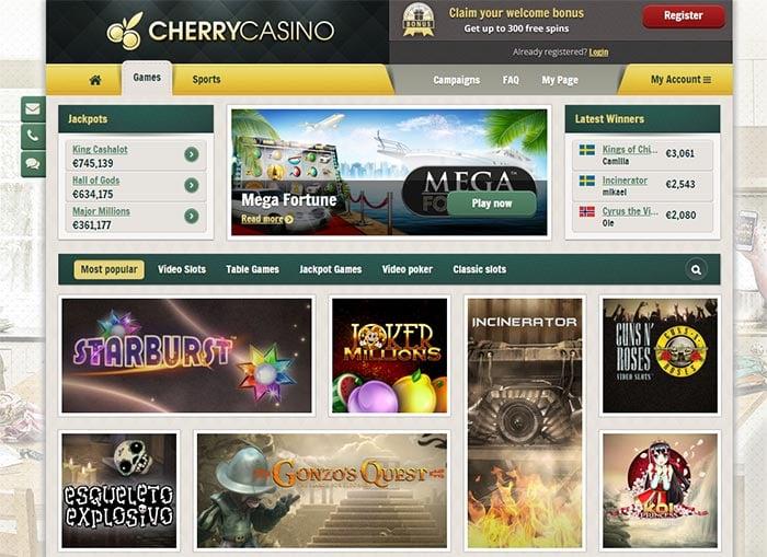 New Cherry Casino 2016