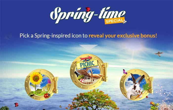 Casino cruise Spring Specials