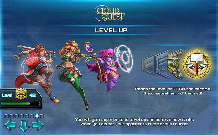 Cloud Quest Level Up