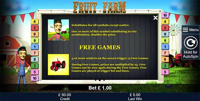 Fruit Farm Slot - Novomatic