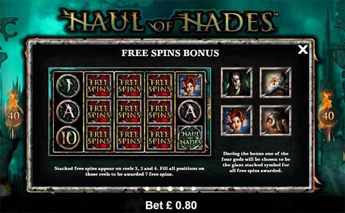 Haul of Hades Slot - Novomatic