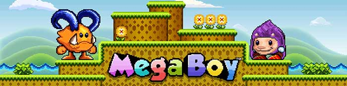 Mega Boy Slot Header