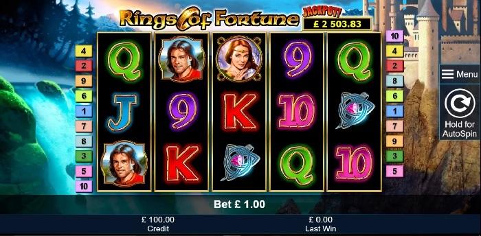 Rings of Fortune Slot - Novomatic
