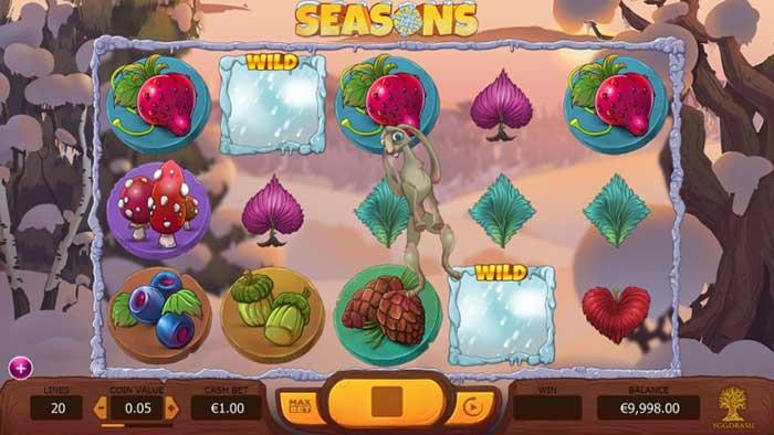 Seasons Slot - Yggdrasil Gaming