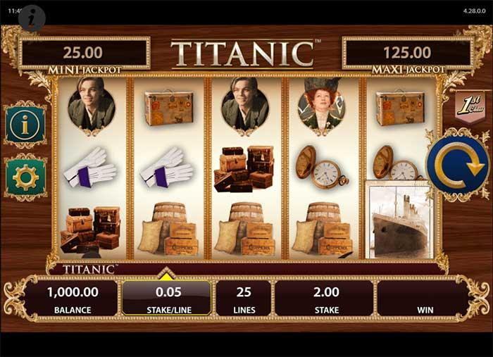 Titanic Slot - Bally
