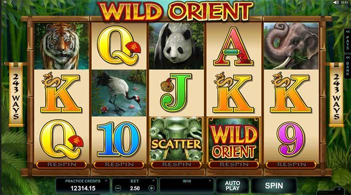 Wild Orient Slot - Microgaming