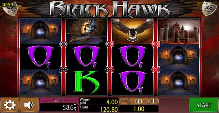 Black Hawk Slot - Wazdan