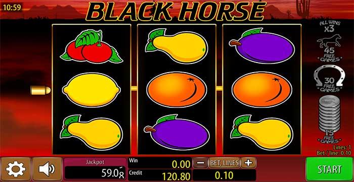 Black Horse Slot - Wazdan