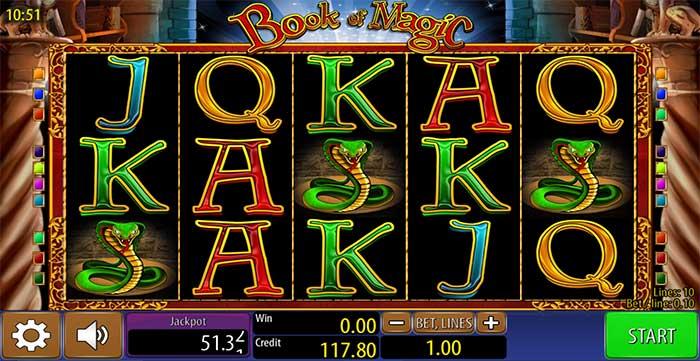 Book Of Magic Slot - Wazdan