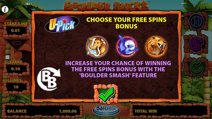 Boulder Bucks Slot - Barcrest