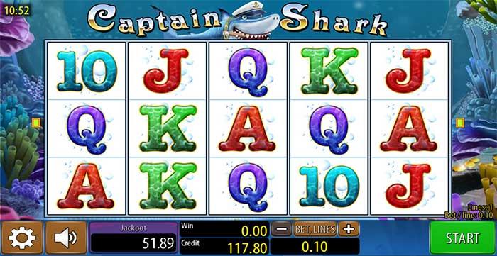Captain Shark Slot - Wazdan