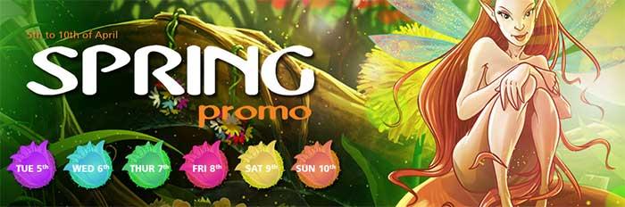 CasinoLuck Spring Promotions