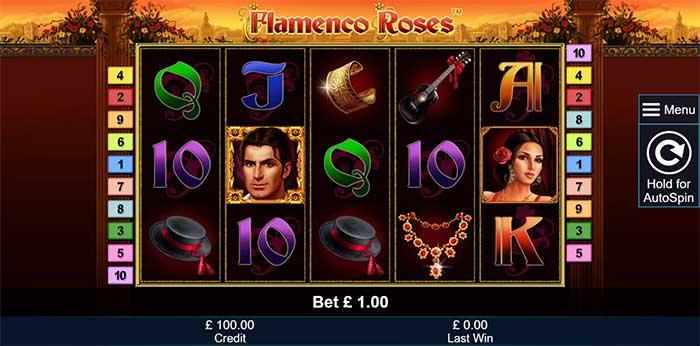 Flamenco Roses Slot - Novomatic