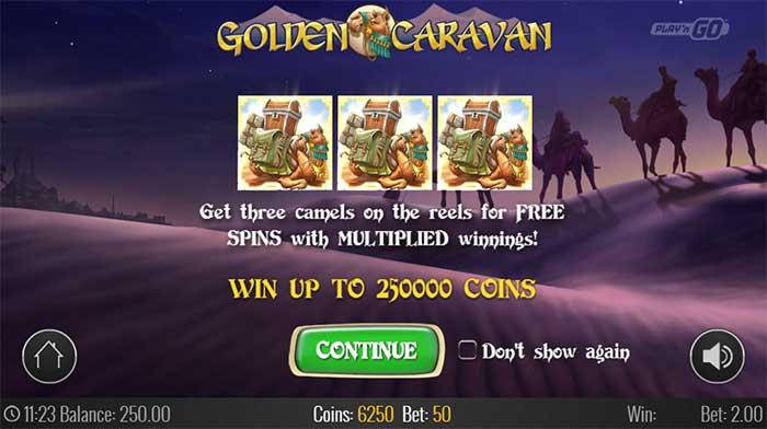Golden Caravan Slot PlaynGO
