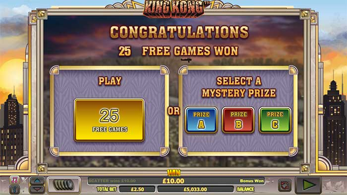King Kong Slot - Nextgen