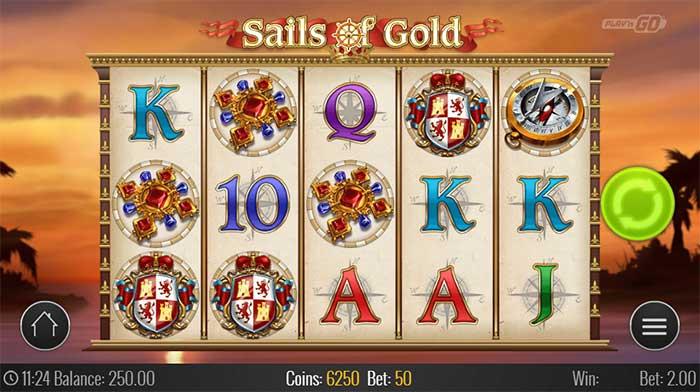 Sails of Gold Slot PlaynGO