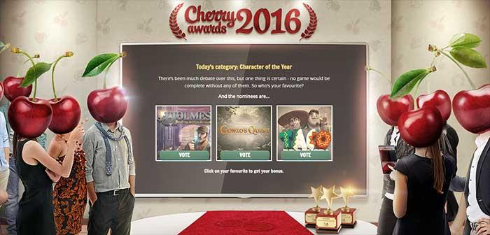 Cherry Casino Awards 2016