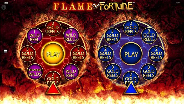 Flame of Fortune Slot Barcrest