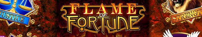 Flame of Fortune Slot Barcrest Logo